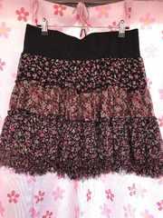 花柄スカート LLサイズ