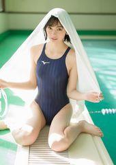 ■熊澤風花■競泳水着 可愛い 生写真(即決)10
