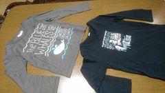 ◆長袖Tシャツ 二枚セット売り◆130
