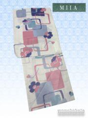 【和の志】女性用浴衣◇Fサイズ◇生成系・幾何学652-16