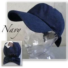 帽子 バック リボン ツイル ローキャップ カーブキャップ CAP