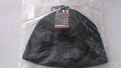 激安63%オフアンダーアーマー、ヒートギア、ニット帽子(新品タグ、黒、フリー)