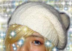 ★ユリア★めちゃかわ♪ホワイト♪ニット帽★