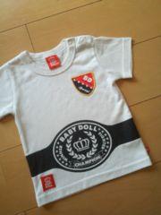 中古Tシャツ80白ベビードールBABYDOLLベビド