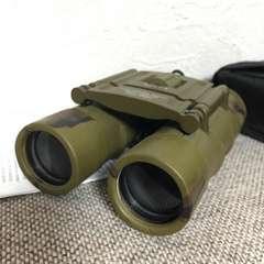 イラク戦争 陸自/NATO/米軍用砂漠迷彩軍用双眼鏡12×25昼夜兼用