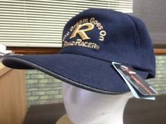 g)L 57-59cm(紺)キャップ 帽子 刺繍 サーモトロン蓄熱暖か維持 秋冬