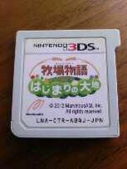 3DS[牧場物語はじまりの大地]ソフトのみ/動作確認済み