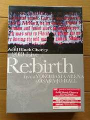 "Acid Black Cherry2010 Live""Re:birth""〜Live 4枚組"
