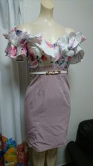 dazzy store 花柄 オフショル ナイトドレス