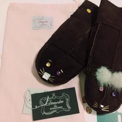 デモデかわいい手袋