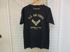 米国製 ALPHA メンズ半袖プリントTシャツ M 美品
