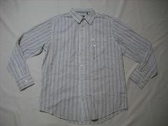 50 男 TIMBERLAND ティンバーランド ストライプシャツ Mサイズ