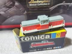 黒箱トミカ DD13形 ディーゼル機関車