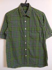 SOPHNET. マドラスチェックシャツ ソフネット キルティング S