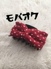 ☆愛用品★髪の毛をまとめるおりぼんワニクリップ★ヘアゴム☆