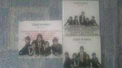 超レア!KAT-TUN/CHANGE UR WORLD初回盤1.2+通常盤/3枚セット!美品