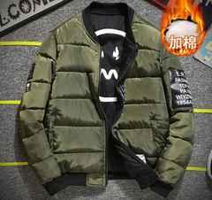 メンズフライトジャケット MA-1 中綿厚手 両面着M~4XL/AK480