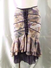 OzzOn激レア2枚編み上げスカートM