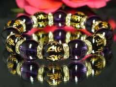 開運ブレス!!最高級14ミリミックス数珠/超オシャレ♪