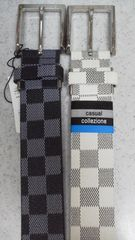 新品ファッションベルト2個セット白系、黒系