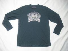 27 男 ラルフローレン ポロジーンズ 黒 長袖Tシャツ L