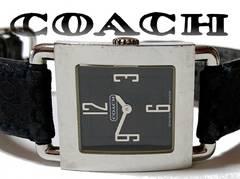 【1スタ】コーチ スイス製】シグネイチャー ユニセックス腕時計