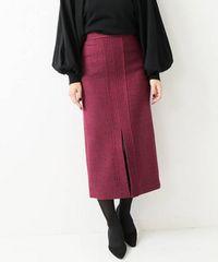 ☆美品フィガロパリ ヴェルメイユパーイエナ ツィードタイトスカート☆