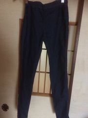 ジーユー*青レギンスS*クリックポスト185円