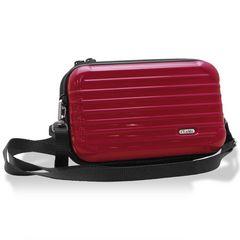 2way スーツケース 型 ワインレッド