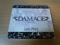 ルイ・マリーCDS「DAMAGE」Luis-Mary西川貴教TMR 初回盤●