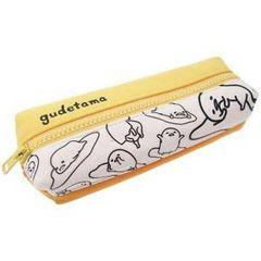 【ぐでたま】可愛い筆記具.コスメ.小物入れに♪2ルームペンケースポーチ