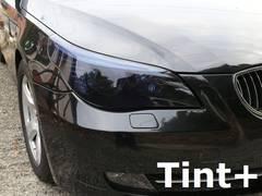 Tint+再使用できるスモークフィルム BMW E60/E61後期 ヘッドライト 用 T1