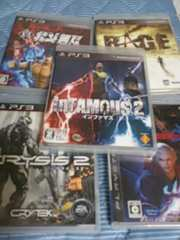 PS3ソフト5本セット★クライシス2インファマス2RAGEデビルメイ4