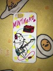 mintneko・ネコイラスト柄iPhone5ケース