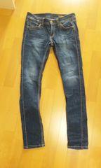スウィートキャメルレディースストレッチスキニージーンズ 67cm中古デニムSC5251