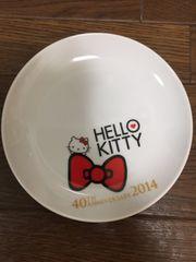 ハローキティ HELLO KITTY 40TH ANNIVERSARY 2014 平皿
