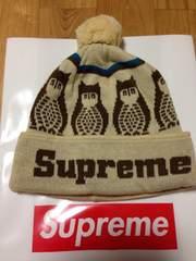 Supreme OWL Beanie 新品 ニットキャップ ビーニー