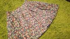 ローリーズ*花柄キュロットパンツ スカート