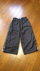 【美品】秋〜◆裾絞り可◆BLACKクロップドパンツ