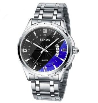 メンズ時計トップブランドの高級男性の腕時計 ブラック