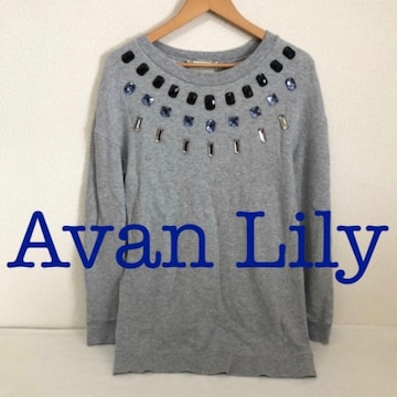 #Avan Lilyビジュースウェット グレー