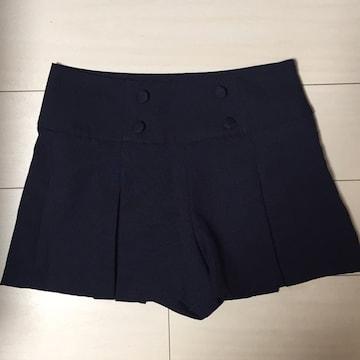 キュロットスカート☆青☆紺☆ショートパンツ☆