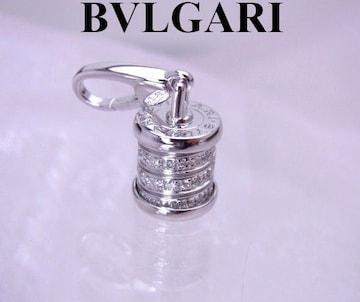 BVLGARI ブルガリ ビーゼロワン K18WG ダイヤモンド チャーム トップ★dot