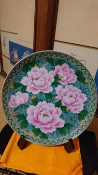 木仙窯→九谷紋様洋式→総牡丹花柄図皿→窯因→
