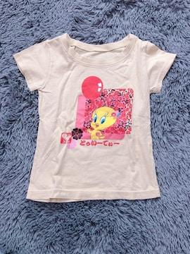 トゥイーティー★半袖Tシャツ100