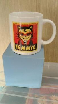 ティミーマグカップロカビリークリームソーダピンクドラゴンTEMMYE