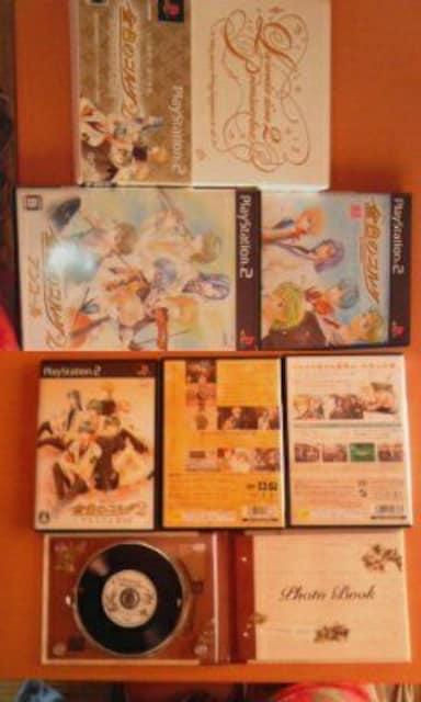 美品 PS2ソフト 金色のコルダ 3本セット 1 & 2 & 2アンコール  < ゲーム本体/ソフトの
