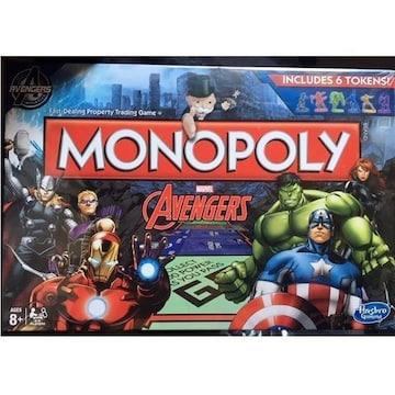 モノポリー アベンジャーズ ボードゲーム ゲーム盤