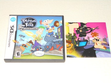 DS★PHINEAS AND FERB 2ND DIMENSION 海外版(国内本体動作可能)