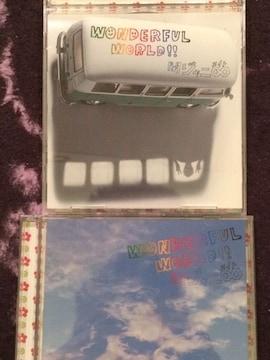 激安!超レア!☆関ジャニ∞/WONDERFUL WORLD☆初回盤A.B/2CD+2DVD